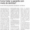 Entrevista no Jornal da ABO sobre Medo de Dentista