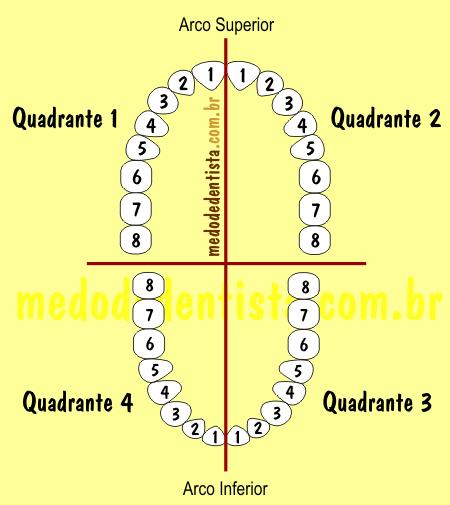 sextantes em periodontia