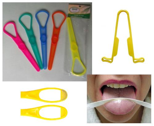 Limpadores de língua