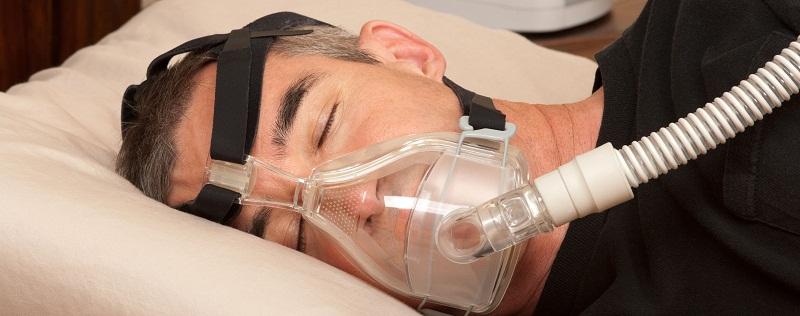 Máscara facial CPAP