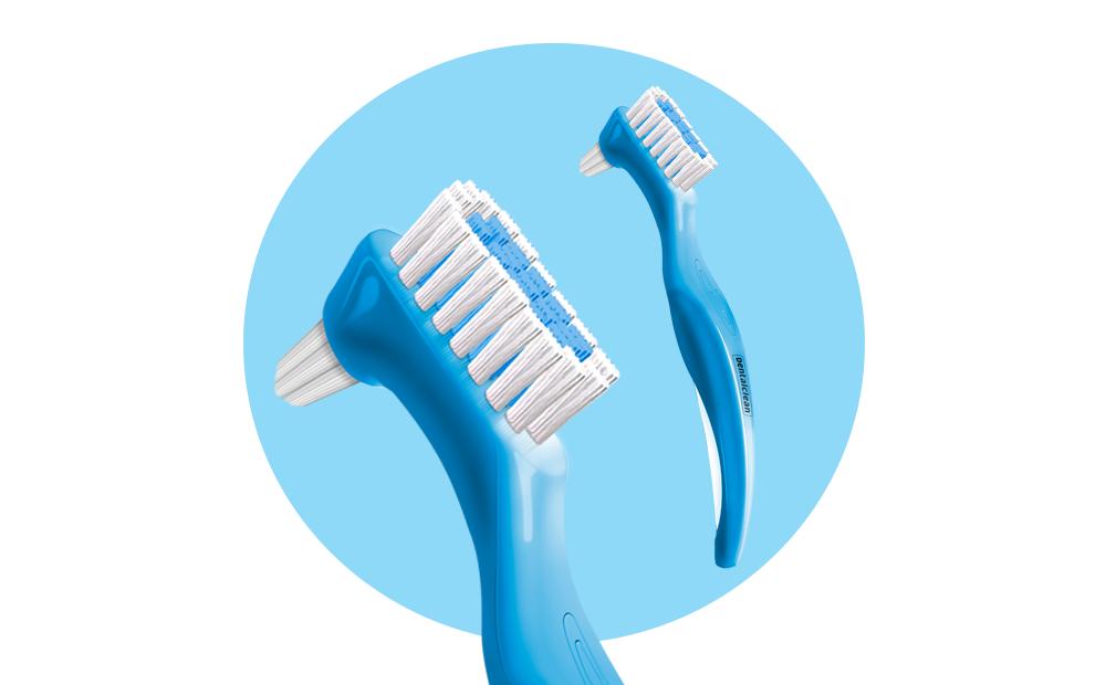 Escova para dentadura